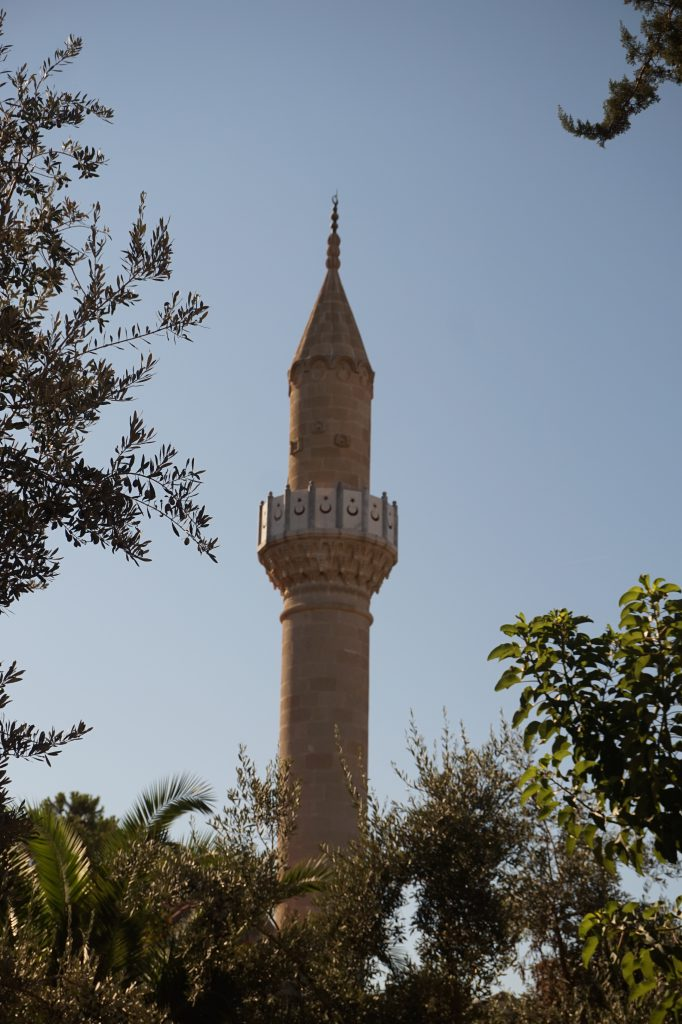 Minaret - Bodrum, Turkey Travel