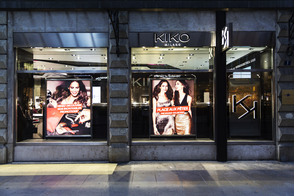 KIKO MILANO COSMETICS NOW IN LAUSANNE AND GENEVA