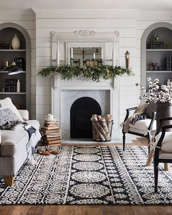 Winter-Home-Decor-Inspiration-Living-Room-Decoration-Hivernale