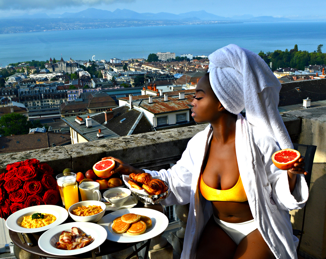 BEST VIEW IN TOWN AT THE LAUSANNE PALACE & SPA