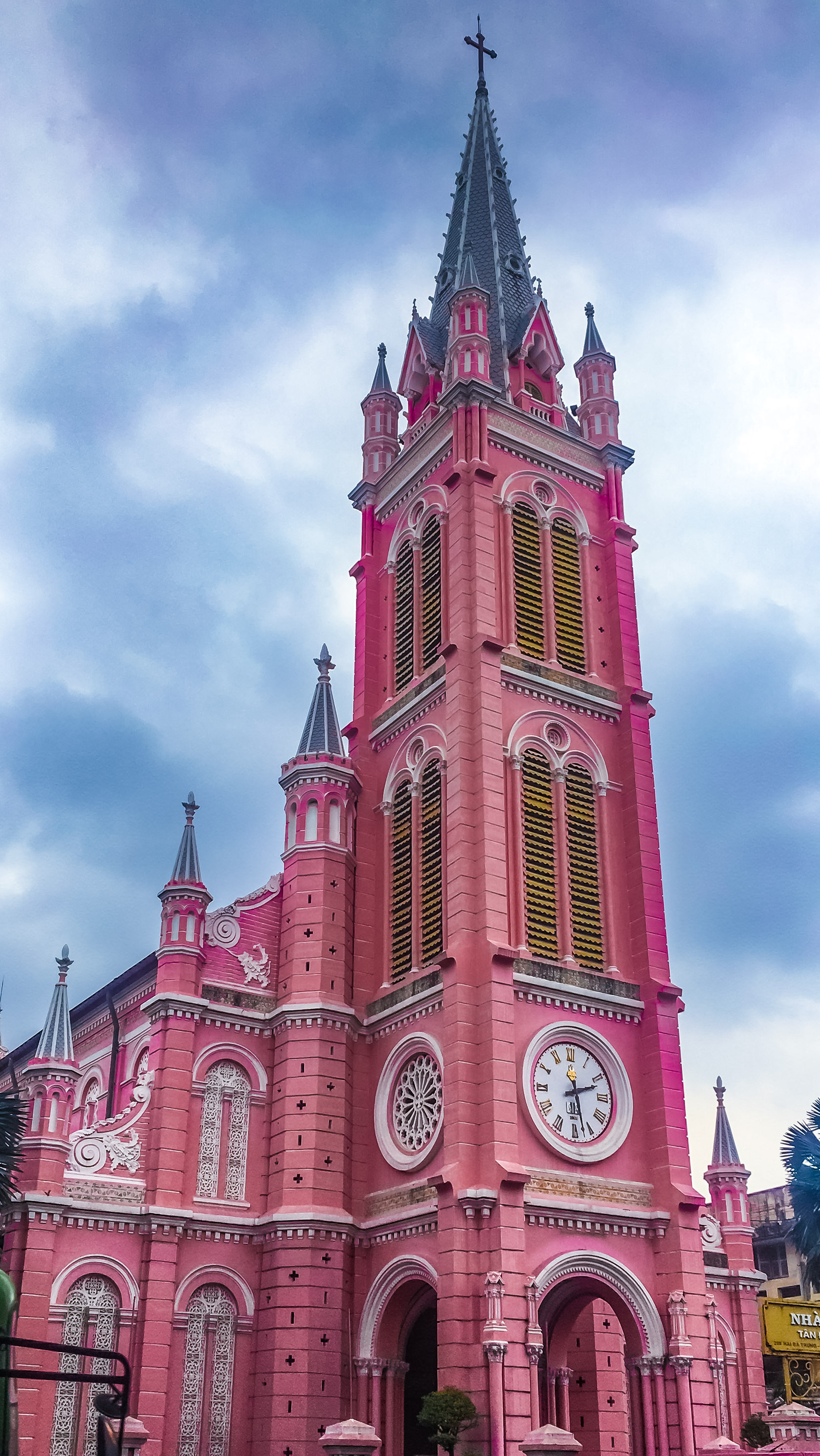 Tan Dinh Pink Church