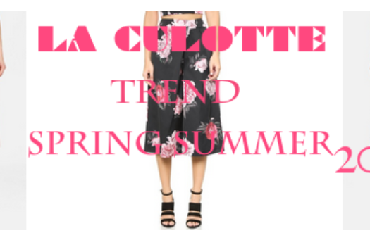 Trend :: La Culotte | 4 Types For SS15