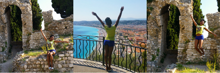 Eat, Swim, Walk, Visiter Nice Travel - Turning Point Blog by Stephanie Guillaume blogger