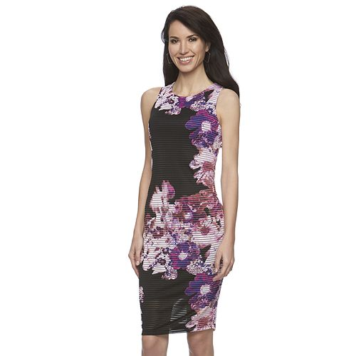 kohlscomjennifer_lopez-gianna_floral-Striped_Sheath_Dress